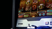Detail of slot machine from Apollo Games