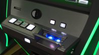 Detail of gambling machine Neos from Apollo Games
